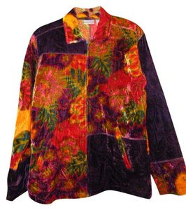 Chico's Multicolored Jacket
