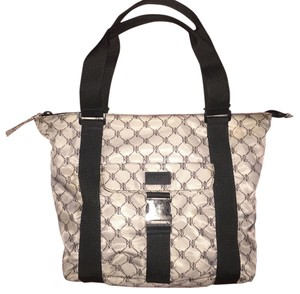 Lauren Ralph Lauren Tote in Black Grey
