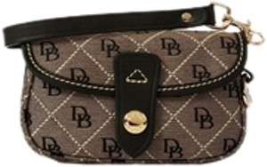 Dooney & Bourke Wristlet in Grey/Black