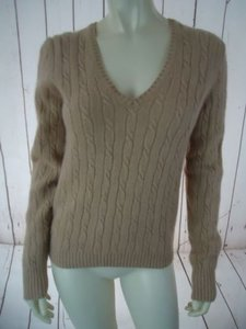 J.Crew Wool Cashmere Blend Cable Knit Hot Sweater