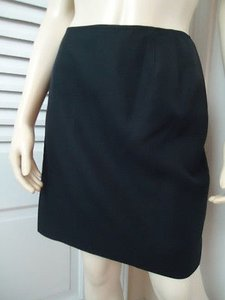 Other Emanuel Ungaro Liberte Italy 48 Silk Little Mini Lined Chic Mini Skirt Black