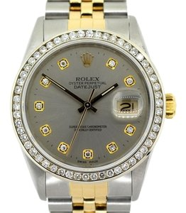 Rolex MEN'S ROLEX DATEJUST DIAMOND WATCH