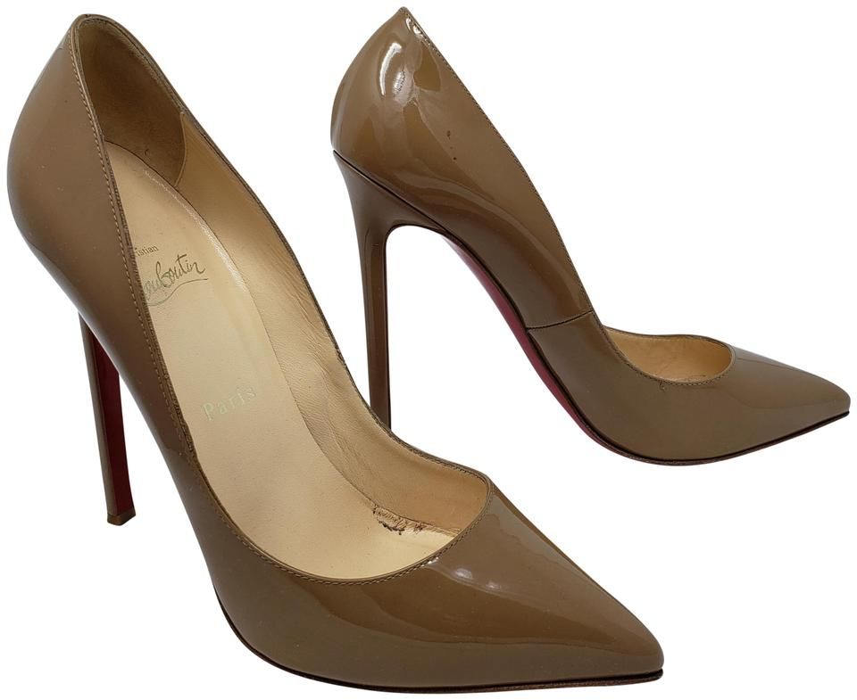 97e75c9c5e9 Christian Louboutin Beige Nude Patent Leather So Kate Stiletto Pumps. Size  EU  39 (Approx. US 9) Regular (M ...