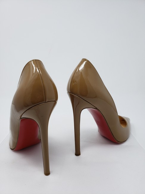 Christian Louboutin Nude So Kate 120 Patent Leather