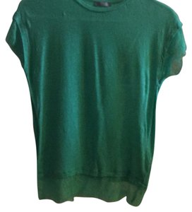 Zara T Shirt Green