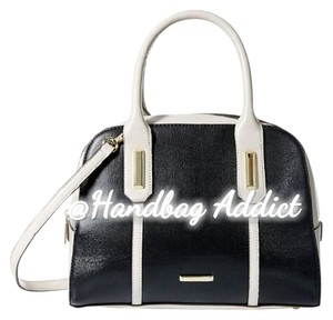 Anne Klein Satchel in Black / White