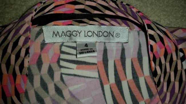 Maggy London short dress Multi Colored Print on Tradesy