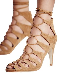 Free People Jeffrey Campbell Tan Sandals