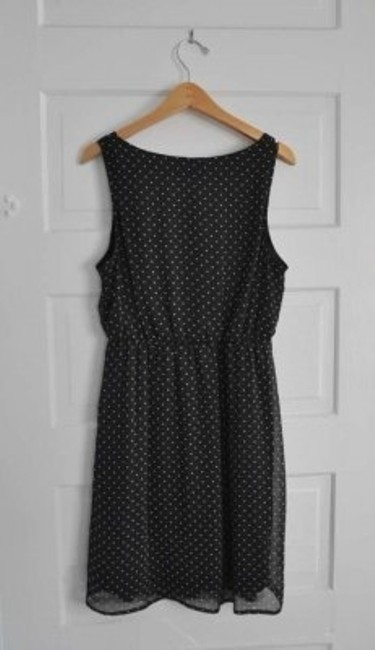 Pins and Needles short dress black and white Urban Outfitters Polka Dot Button Tank on Tradesy