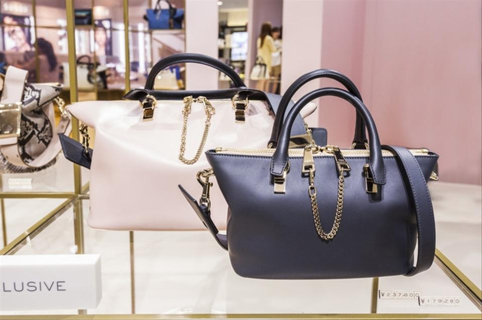 handbags see by chloe - Chlo�� Baylee Mini Limited Edition Black Maison De Reefur Pink ...
