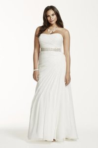 David's Bridal David's Bridal 9v3540 Wedding Dress Wedding Dress