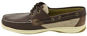 Sperry Deerskin Brown Flats