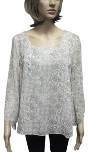 Forever 21 Top cream & taupe