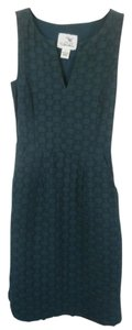 Anthropologie short dress Forest Green Classic Sleeveless on Tradesy