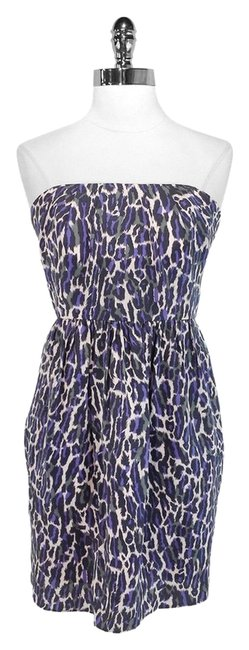 Shoshanna Print Silk Dress