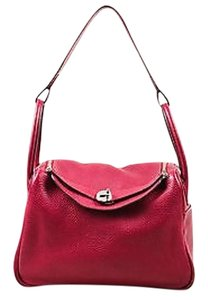 Hermès Hermes Rouge Clemence Satchel in Red