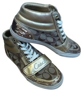 Coach Sneakers Brown / Gold Athletic