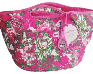 Lilly Pulitzer LILLY PULITZER insulated beverage bucket featured in beach rose