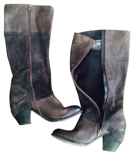 Fergie Chocolate Brown Boots
