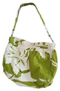Old Navy Green White Summer Shoulder Bag