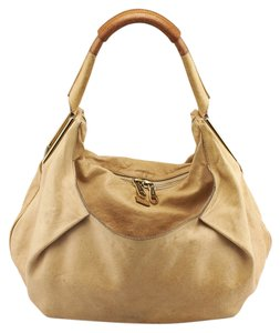 chloe large leather hobo