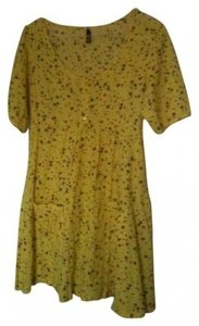 Divided by H&M short dress Yellow on Tradesy