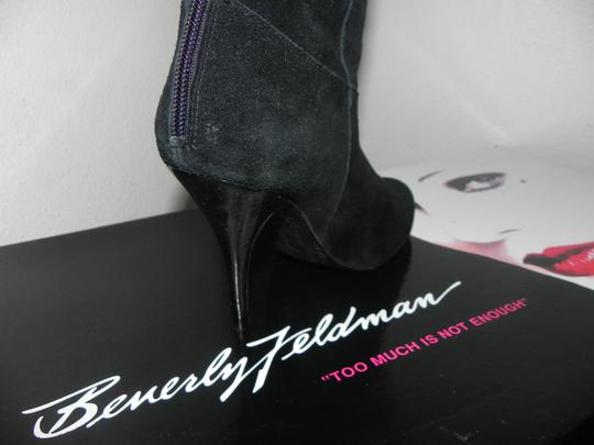 Beverly Feldman Black Boots