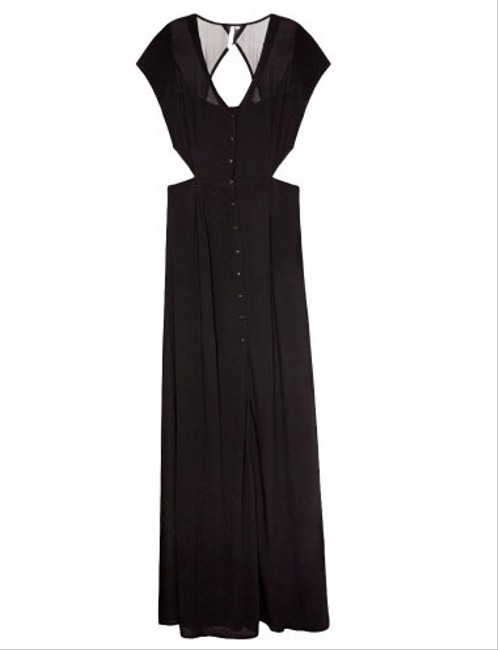 Black Maxi Dress by Pixie Market
