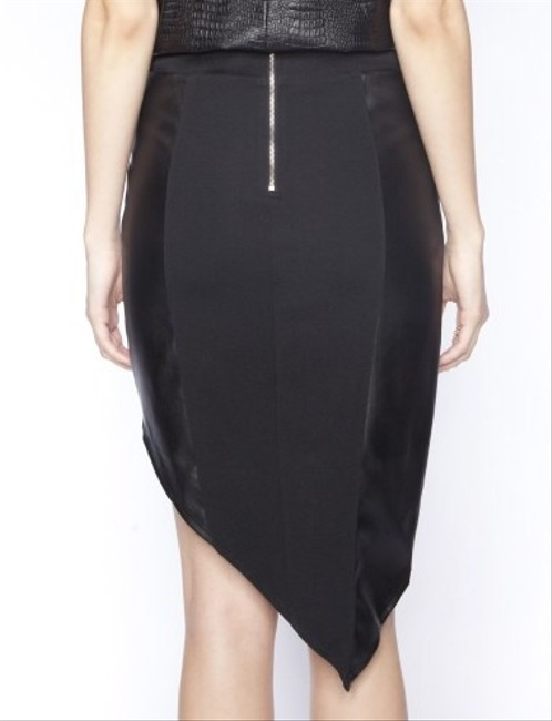 Body Con Skirt Black