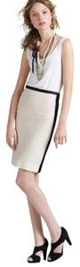 J. Crew Skirt Ivory and Black