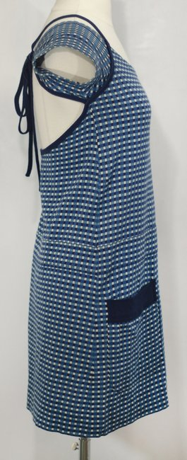 Marc by Marc Jacobs short dress Teal/Navy Cotton on Tradesy
