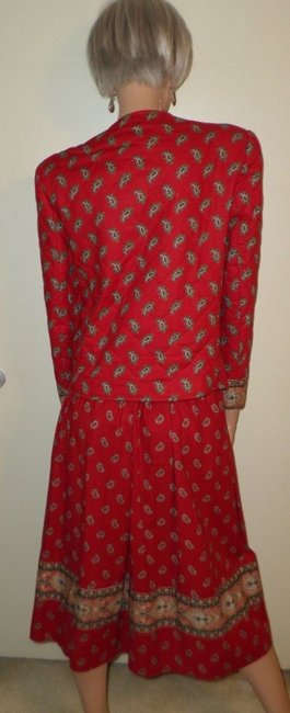 Vera Bradley VTG Skirt Jacket Set
