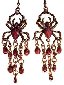 Other Purple Austrian Crystals & Purple Chroma in Goldtone