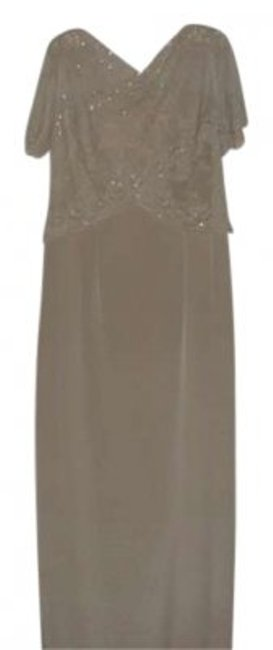 Preload https://item3.tradesy.com/images/talbots-champagne-mother-of-the-bride-elegance-long-formal-dress-size-12-l-141032-0-0.jpg?width=400&height=650