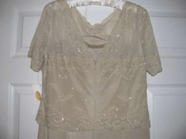 Talbots Flattering Color Beaded Dress