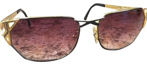 Caviar Eyewear GOLD FRAME WITH GRADIENT ROSE LENSES.