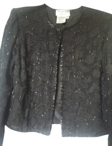 Papell Boutique Black Jacket