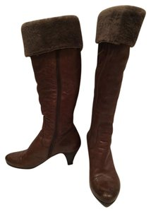 Alberto Fermani Shearling brown Boots