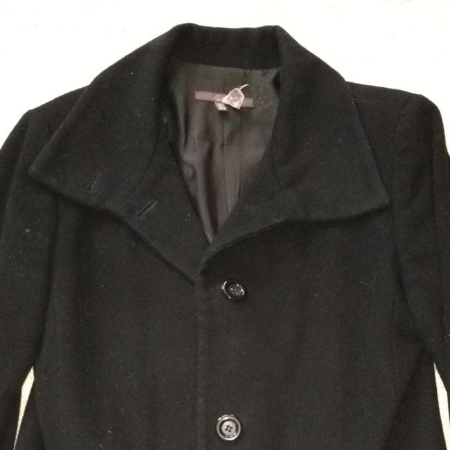 Zara Black Wool Winter Coat Size 12 (L) Zara Black Wool Winter Coat Size 12 (L) Image 1