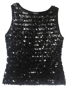 Karen Kane Top Black sequin