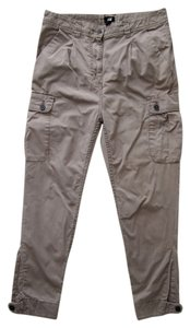 H&M Skinny Pants Khaki Size 6 Cargo Jeans-Light Wash
