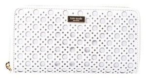 Kate Spade * Kate Spade New York Neda White Leather WALLET