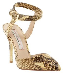 db00b767a679 Sam Edelman Cream and Blush Ollie T-strap Double Ankle Strap Studded Pumps.   60.59. US 9.5. Sold Out. Sam Edelman Ankle Snakeskin Heel Yellow Pumps