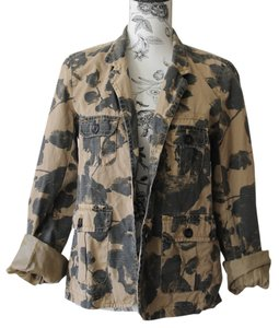 J.Crew Floral J Crew Military Military Jacket