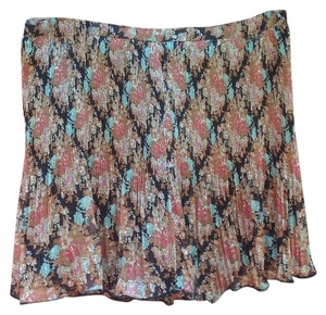 Buffalo David Bitton Skirt Bohemian Black Floral