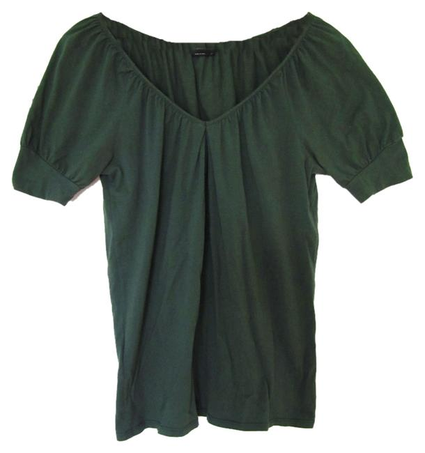 Item - Forest Green V-neck Tee Shirt Size 2 (XS)