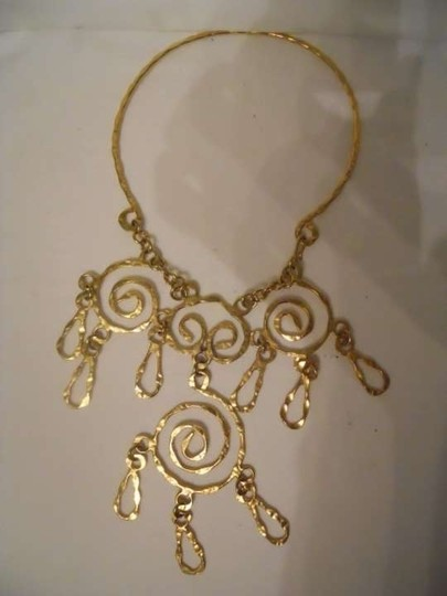 Other Gold tone statement necklace