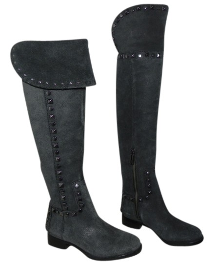Tory Burch Grey Boots