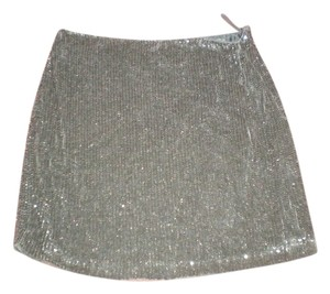 Banana Republic Skirt black sequenced