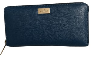 Kate Spade Kate Spade Highland Place Neda Pebbled Leather Wallet Zip Around